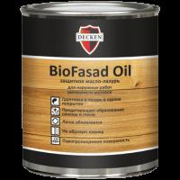 Защитное масло-лазурь DECKEN BioFasad Oil